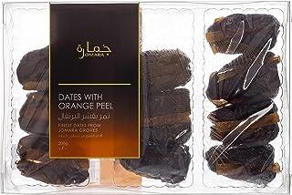 JOMARA Dates With Orange Peel, 24 Pieces, 200 gm