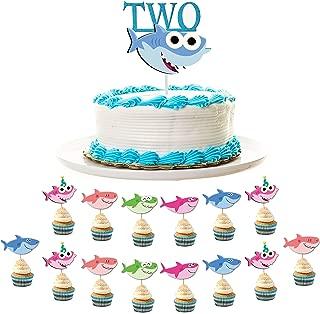 baby shark sheet cake