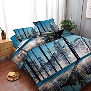 Best room essentials cityscape bedding Reviews