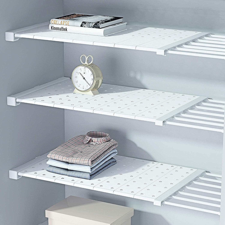 Regular store HDAIUCOV Tension Shelf Expandable Adjustable Shelves Industry No. 1 for