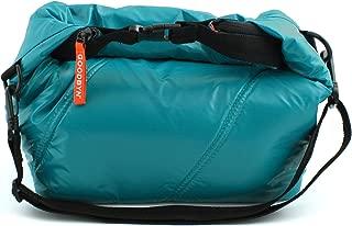 Goodbyn Roll Top Insulated Lunch Bag, Dark Aqua