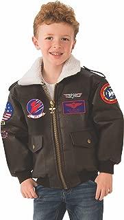 Rubie's Top Gun Child's Costume Bomber Jacket, Medium
