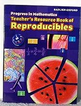 Progress in Mathematics: Teacher's Resource Book of Reproducibles, Grade 5