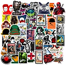 Classic Movies Characters Theme Stickers Laptop Stickers Waterproof Skateboard Snowboard..