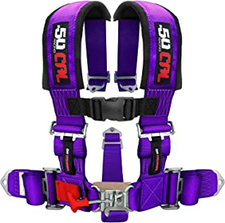 50 Caliber Racing Purple 5 Point Harness with 3
