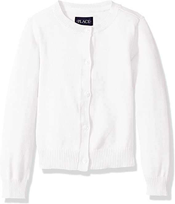 The Childrens Place Girls Uniform Sweater and Blouse Set