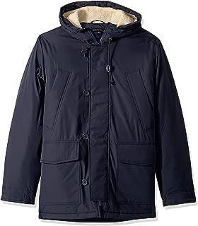 J.Crew Mercantile Men's Sherpa-Lined Hooded Parka Jacket