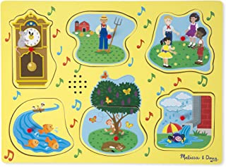 Melissa & Doug Nursery Rhymes 1 Sound Puzzle (6 Piece)