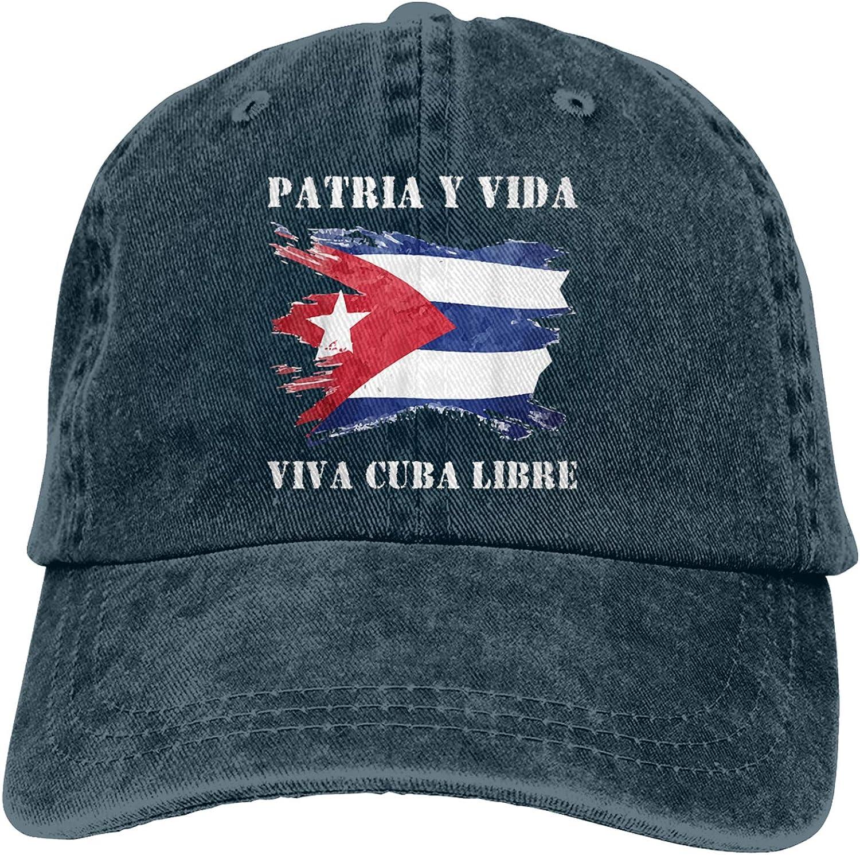 Patria Y Max 63% New Orleans Mall OFF Vida - Viva Cuba Hat Vintage Libre Baseball Adjustable