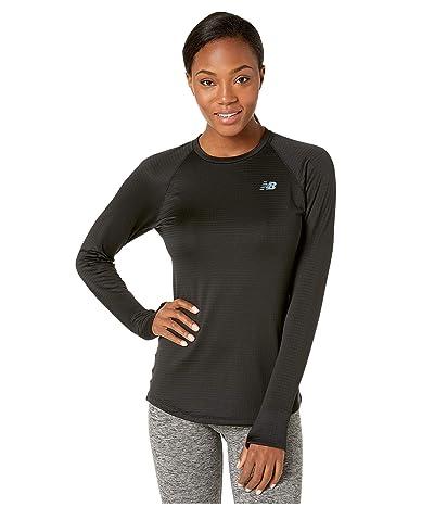 New Balance Impact Run Grid Crew (Black) Women