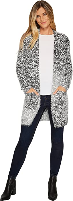 B Collection by Bobeau Harper Eyelash Cardigan
