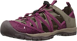 Women's Santa ROSA Sport Sandal, Stone/Berry, Size 7 M US