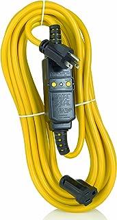 Leviton GFA15-25C 15-Amp, 120-Volt, 25 Ft Cord Set, Straight Blade, Automatic Reset GFCI Device