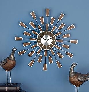 Deco 79 98433 Metal Wall Clock, 22