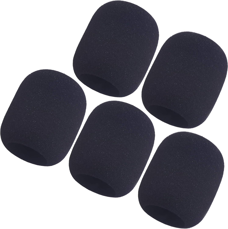 YAKA 5 Pack Large Foam Cheap Mic Bargain sale Microphone Windscreen Handheld Cover