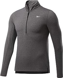 Reebok Men's Ts Ac+cotton 1/4 Zip Sweatshirt