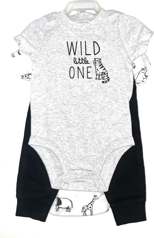 Carter's Baby Boys' 3 Piece Bodysuit Pants Set