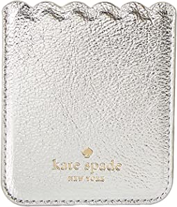 Kate Spade New York - Metallic Scallop Sticker Pocket