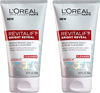 L'Oreal Paris Skin Care Revitalift Bright Reveal Cleanser, 5 Fl Oz (Pack of 2)