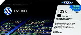 HP 122A Hewlett Packard Original LaserJet Colour Sphere Toner Cartridge, Black - Q3960A