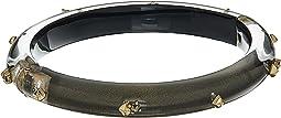 Alexis Bittar - Gold Studded Hinge Bracelet
