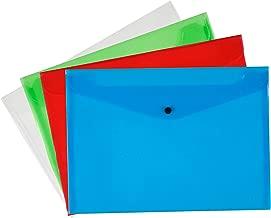 Q Connect A4 Polypropylene Document Folder - Assorted, Pack of 12