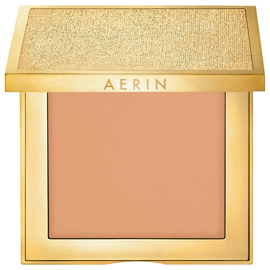 に向かって圧力二層Aerin新鮮な肌コンパクトメイクアップレベル5 (AERIN) (x2) - AERIN Fresh Skin Compact Makeup Level 5 (Pack of 2) [並行輸入品]