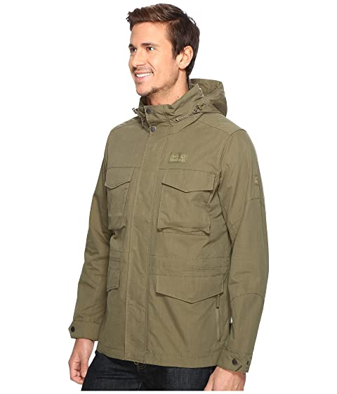Freemont Field Olive Wolfskin Jacket Jack Burnt fqx65wxUA