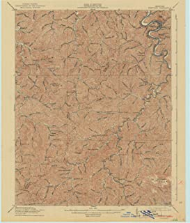 YellowMaps Pikeville KY topo map, 1:62500 Scale, 15 X 15 Minute, Historical, 1916, Updated 1942, 19.9 x 17 in