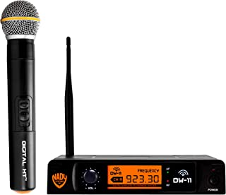 Nady DW-11 Digital Wireless Handheld Microphone System – Ultra-low latency with QPSK..