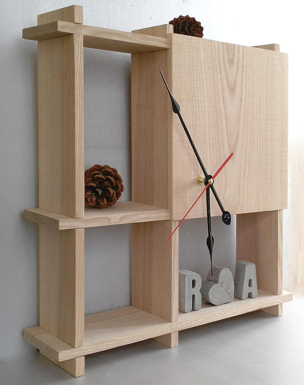 Silent Wall Clock Farmhouse Wood Anniversary Minima Gift High quality Under blast sales new For Him