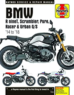 BMW R nineT, Scarmbler, Pure, Racer & Urban G/S (14 - 18): 2014 to 2018 (Haynes Powersport)