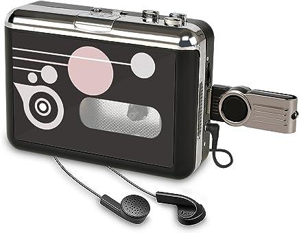 Amazon.es: Comprar Reproductor de cassette|Reproductor de