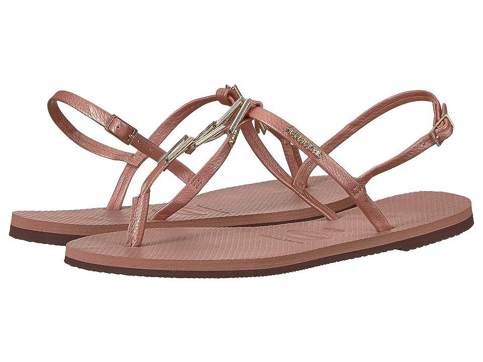 Havaianas You Riviera Maxi Sandals (Crocus Rose) Women
