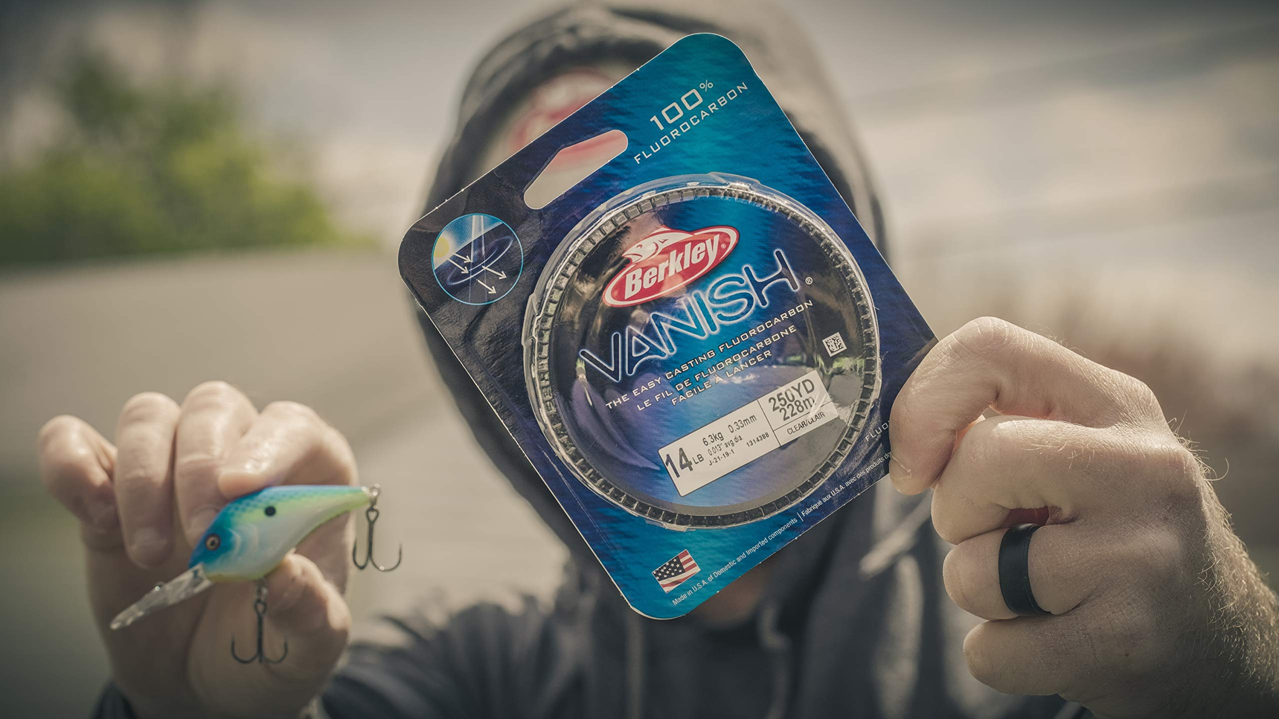 Berkley Vanish Fluorocarbon Fishing Line/Leader Material