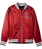 Dolce & Gabbana Kids - Satin Baseball Jacket (Big Kids)