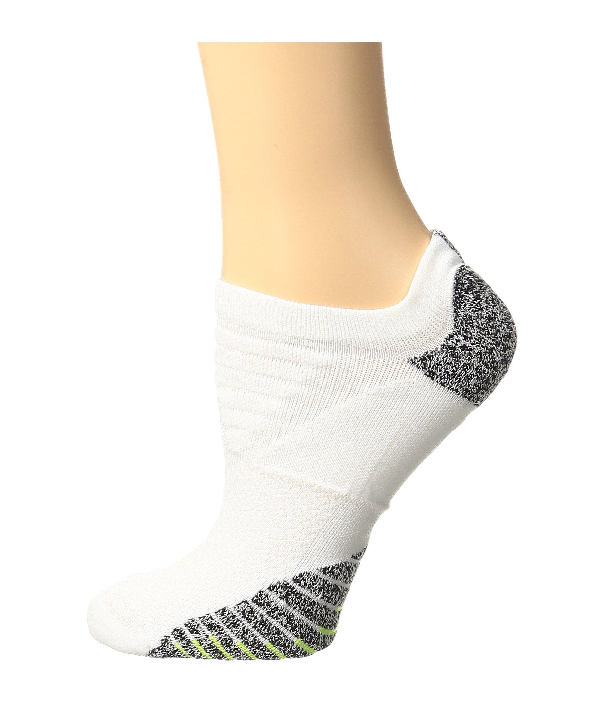 3ce07713258ea Nikegrip Lightweight No Show Training Socks, White/Black/Volt