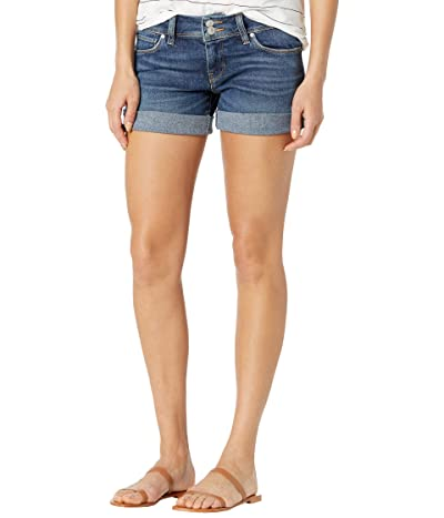 Hudson Jeans Croxley Cuffed Flap Midthigh Shorts in Collide Women