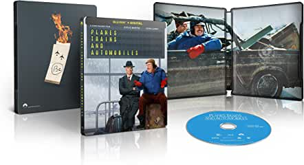 Planes, Trains And Automobiles Limited-Edition Blu-ray SteelBook arrives Nov. 23 from Paramount