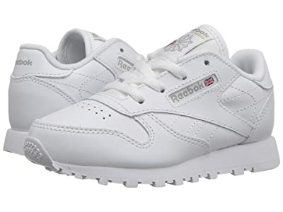 Reebok Kids Classic Leather (Infant/Toddler) (White) Kids Shoes