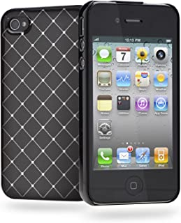 Cygnett CY0678CPDEC Deco SemiBling Case for iPhone 4S - 1 Pack - Retail Packaging - Black