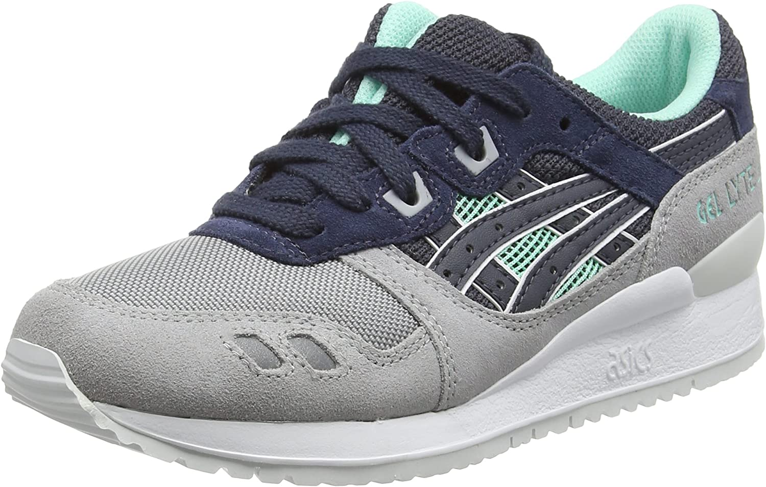 ASICS Gel-Lyte III Mens Running Trainers H6X2L Sneakers shoes Navy