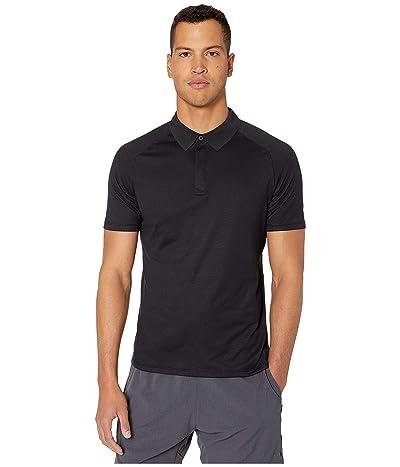 RYU Tech Polo Shirt (Deepest Black) Men