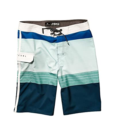 Rip Curl Kids Mirage Horizon Boardshorts (Big Kids) (Blue) Boy