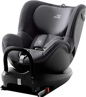 Besonders praktisch Britax Römer Reboarder Kindersitz 0 - 4 Jahre I 0 - 18 kg I DUALFIX 2 R Autositz Drehbar Isofix Gruppe 0/1 I Storm Grey