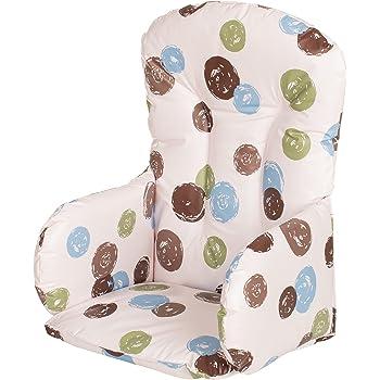 lavable et pliable chaise enfant Insert Tapis de rembourrage nouvelle version b/éb/é Chaise haute Housses de si/ège Zarpma Ikea Antilop Coussin de chaise haute Plus /épais