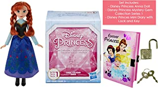 Princess Royal Shimmer and Classic Fashion Doll Gift Set Including Mini Diary and Gem Collection Mystery Box (Anna Doll)