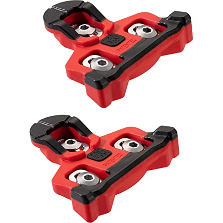 PRO BIKE TOOL Bike Cleats Compatible with Shimano SPD-SL Clipless Pedals (6 Degree Float) for Men & Women Cycle Shoes - Bicycle Cleat Set for Road & Indoor Cycling