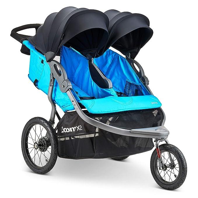 Joovy Zoom X2 Double Jogging Stroller - The Most Lightweight All Terrain Stroller