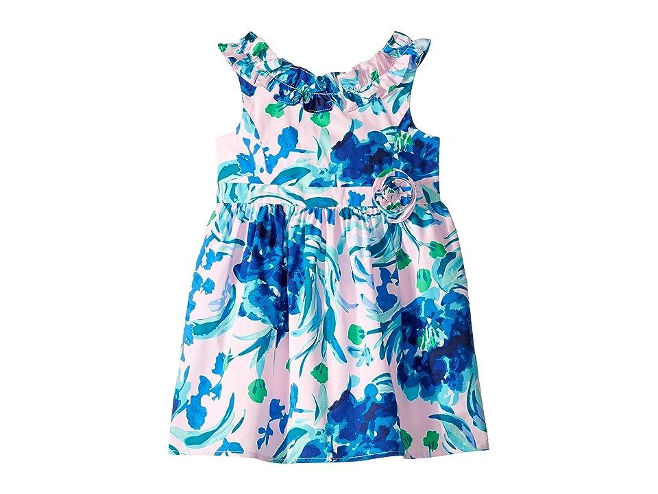 Lilly Pulitzer Kids Georgina Dress (Toddler/Little Kids/Big Kids) (Pink Tropics Tint Sweet Pea) Girl